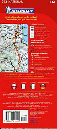 Michelin Karte Irland; Irlande - Produktdetailbild 1
