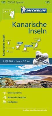 Michelin Karte Kanarische Inseln; Îles Canaries