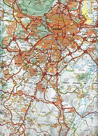 Michelin Karte Madrid und Umgebung; Madrid et ses environs - Produktdetailbild 2