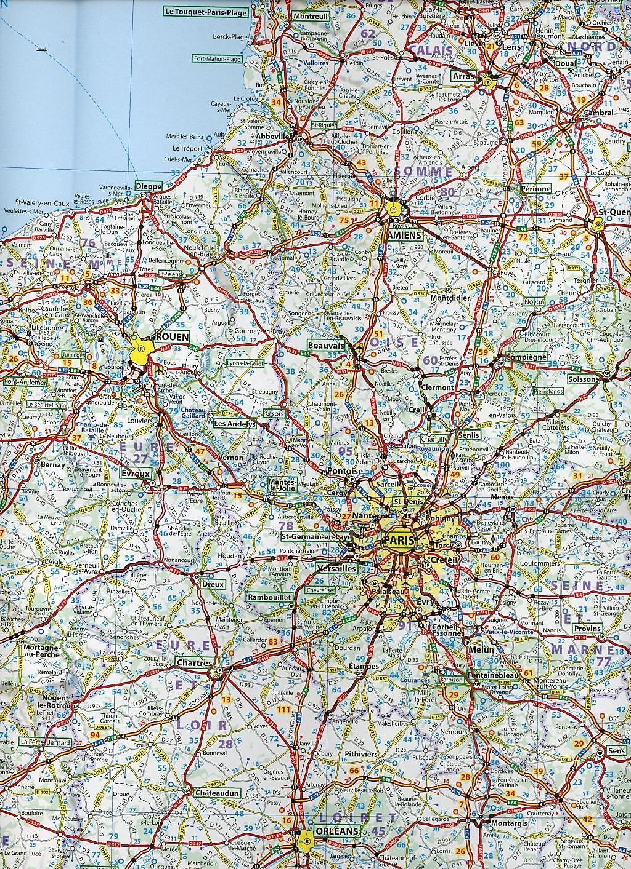 Nordfrankreich Karte.Michelin Karte Nordfrankreich France Nord Buch Weltbild De