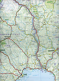 Michelin Karte Norwegen; Norvege - Produktdetailbild 2