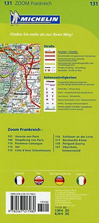 Michelin Karte Oberrhein, Schwarzwald; Alsace, Forêt Noire - Produktdetailbild 1