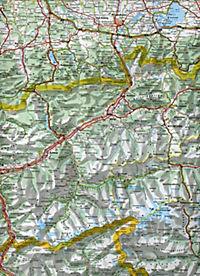 Michelin Karte Österreich; Autriche - Produktdetailbild 2