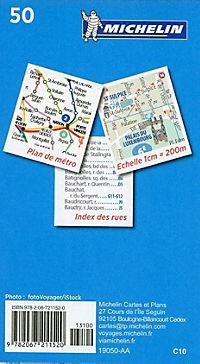 Michelin Karte Paris Pocket Plan - Produktdetailbild 1