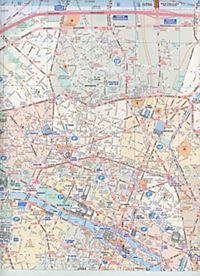 Michelin Karte Paris Pocket Plan - Produktdetailbild 2