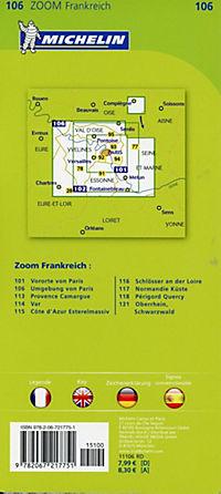 Michelin Karte Paris und Umgebung - Produktdetailbild 1