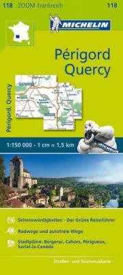 Michelin Karte Périgord, Quercy