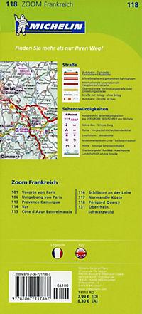 Michelin Karte Périgord, Quercy - Produktdetailbild 1