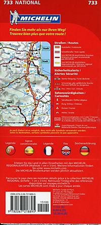 Michelin Karte Portugal Madeira; Portugal, Madère - Produktdetailbild 1