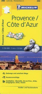 Michelin Karte Provence, Cote d' Azur; Bouches-du-Rhone, Var -  pdf epub
