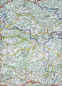 Michelin Karte Provence, Côte d' Azur; Provence-Alpes, Côtes d' Azur - Produktdetailbild 2