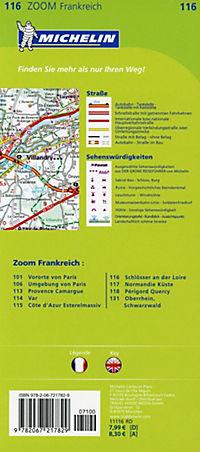 Michelin Karte Schlösser an der Loire; Val de Loire et ses châteaux - Produktdetailbild 1