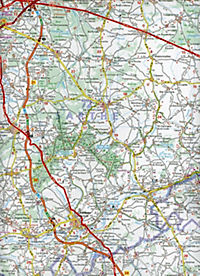 Michelin Karte Schlösser an der Loire; Val de Loire et ses châteaux - Produktdetailbild 2