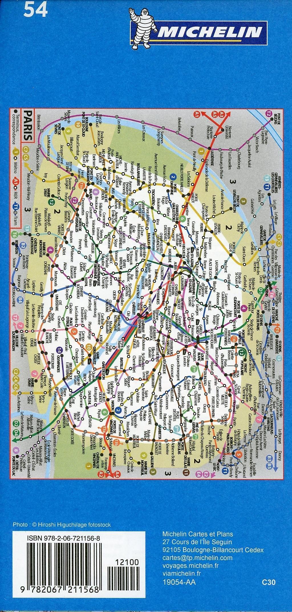 Karte Paris Stadtplan.Michelin Karte Stadtplan Paris Buch Bei Weltbild Ch Bestellen