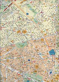Michelin Karte Stadtplan Paris - Produktdetailbild 2