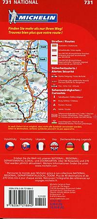 Michelin Karte Tschechien - Slowakei; Republique tchèque, Republique slovaque - Produktdetailbild 1