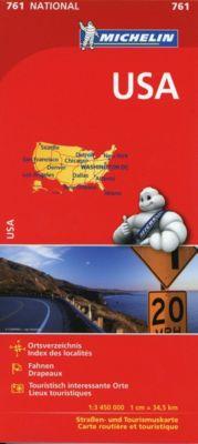 Michelin Karte USA