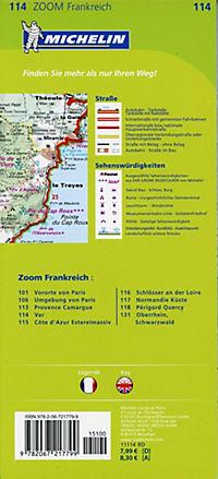 Michelin Karte Var; Pays varois, Gorges du Verdon - Produktdetailbild 1