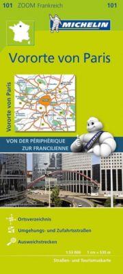 Michelin Karte Vororte von Paris -  pdf epub