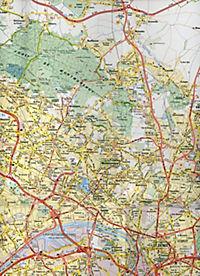 Michelin Karte Vororte von Paris - Produktdetailbild 2