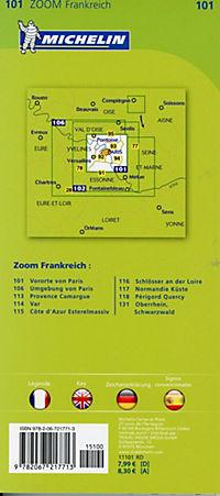 Michelin Karte Vororte von Paris - Produktdetailbild 1