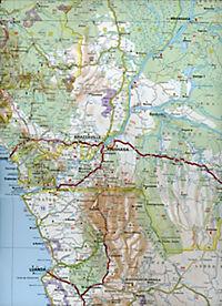 Michelin Karte Zentral-, Süd-Afrika, Madagaskar; Afrique Centre et Sud, Madagascar - Produktdetailbild 1