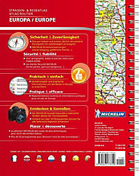 Michelin Strassenatlas Europa; Michelin Atlas routier Europe - Produktdetailbild 1