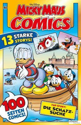 Micky Maus Comics - Die Schatzsuche - Walt Disney |