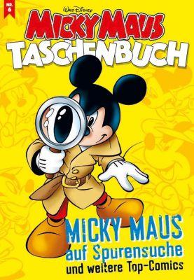 Micky Maus Taschenbuch - Micky Maus auf Spurensuche, Walt Disney