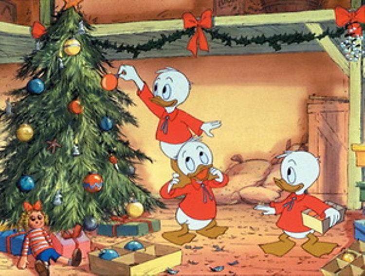 Mickys GroГџes Weihnachtsfest Eingeschneit Im Haus Der Maus