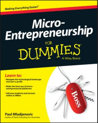 Micro-Entrepreneurship For Dummies, Paul Mladjenovic