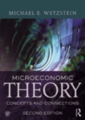 Microeconomic Theory second edition, Michael E. Wetzstein