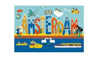 Micropuzzle - Amsterdam (Puzzle)