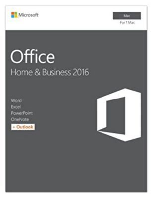 Microsoft Office Mac Home and Business 2016 - 1MAC - Download