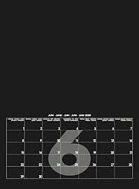 Mid Black 2019 - Blanko Mid Format - Produktdetailbild 7