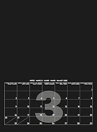 Mid Black 2019 - Blanko Mid Format - Produktdetailbild 4