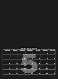 Mid Black 2019 - Blanko Mid Format - Produktdetailbild 6
