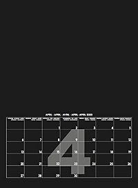 Mid Black 2019 - Blanko Mid Format - Produktdetailbild 5
