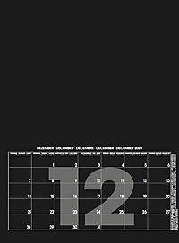 Mid Black 2019 - Blanko Mid Format - Produktdetailbild 13