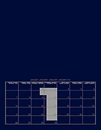 Mid Blue 2019 - Blanko Mid Format - Produktdetailbild 2
