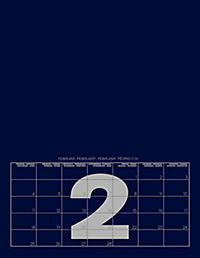 Mid Blue 2019 - Blanko Mid Format - Produktdetailbild 3
