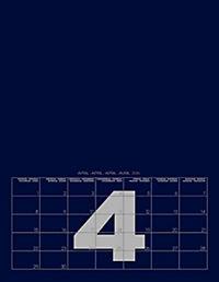 Mid Blue 2019 - Blanko Mid Format - Produktdetailbild 5