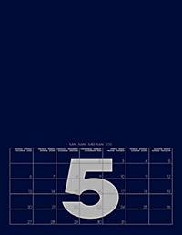 Mid Blue 2019 - Blanko Mid Format - Produktdetailbild 6