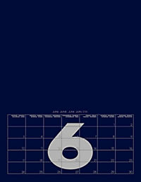 Mid Blue 2019 - Blanko Mid Format - Produktdetailbild 7