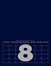 Mid Blue 2019 - Blanko Mid Format - Produktdetailbild 9
