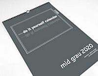 Mid Grau 2019 - Blanko Mid Format - Produktdetailbild 14