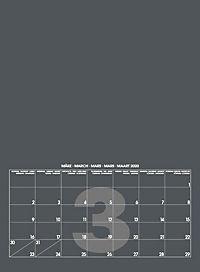 Mid Grau 2019 - Blanko Mid Format - Produktdetailbild 4