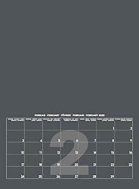 Mid Grau 2019 - Blanko Mid Format - Produktdetailbild 3