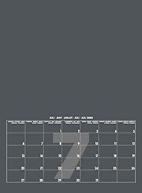 Mid Grau 2019 - Blanko Mid Format - Produktdetailbild 8
