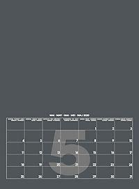 Mid Grau 2019 - Blanko Mid Format - Produktdetailbild 6